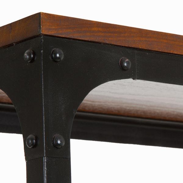 Estantería madera y metal - Colección Franklin by Craftenwood (1)
