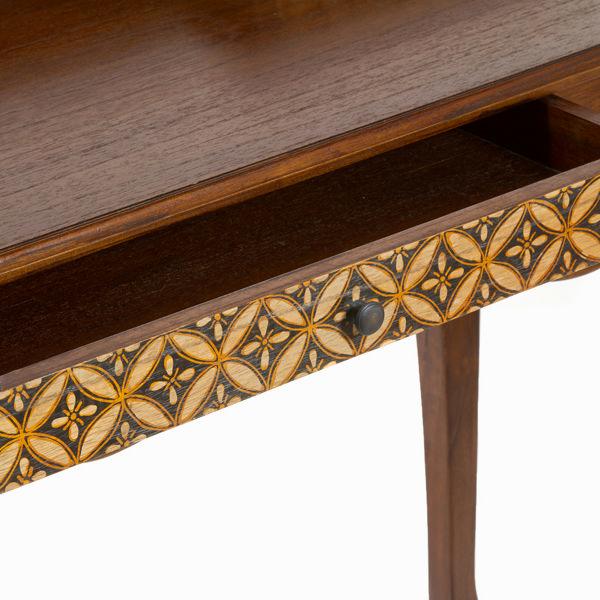 Bureau 3 cajones en madera - Colección Serious Line by Craftenwood (1)