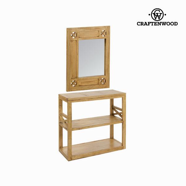 Predal z ogledalom ios - Village Zbirka by Craften Wood
