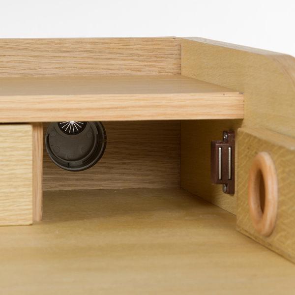 Bureau wood 4 cajones - Colección Modern by Craftenwood (2)