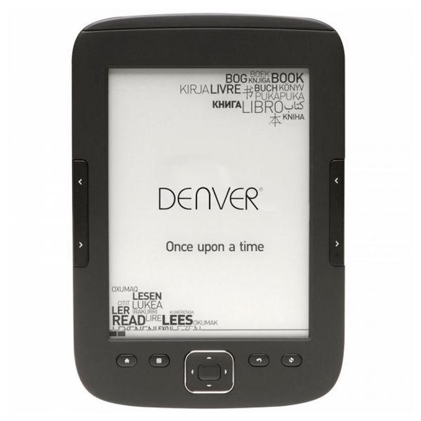 "eBook Denver Electronics EBO-610L 6"" 8 GB Negro"