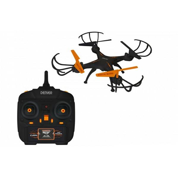 Dron Denver Electronics 222679 380 mAh Negro Naranja