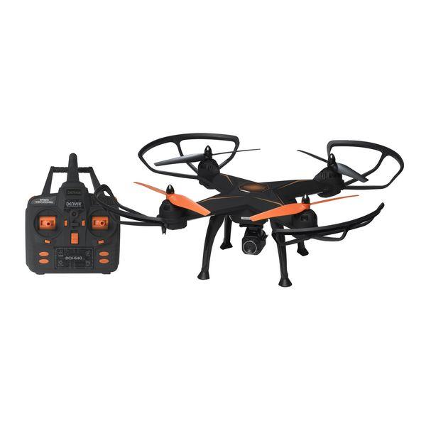 Dron Teledirigido Denver Electronics DCH-640 2 mpx Negro