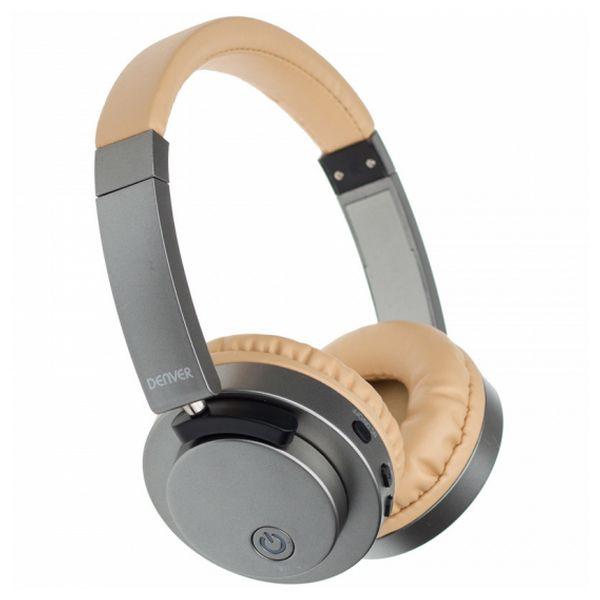Auricolari Bluetooth Denver Electronics BTN-206 250 mAh Grigio Dorato