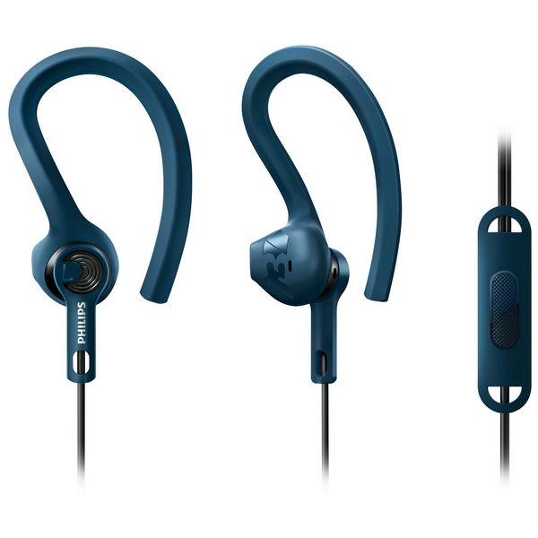 auriculares deportivos con micrófono Philips UE65MU8005 223189 Waterproof Azul