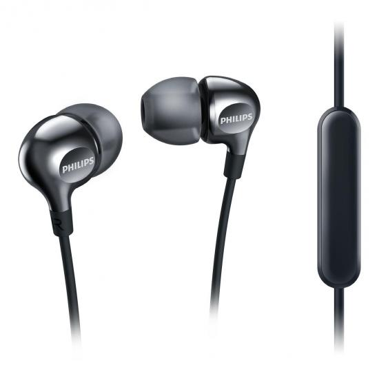 Auriculares de Botón Philips SHE3705WH/00 105 dB Negro