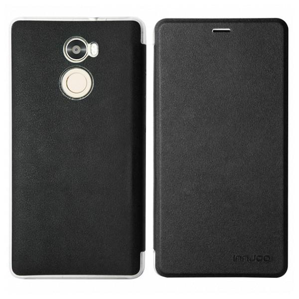 Funda Libro INNJOO 223040 Smartphone Negro Polipiel