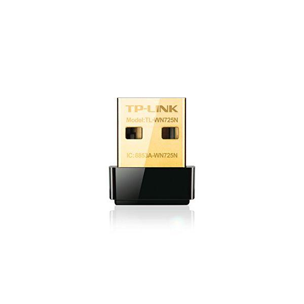 Wi-Fi Adapter TP-LINK Nano TL-WN725N 150N WPS USB Črna