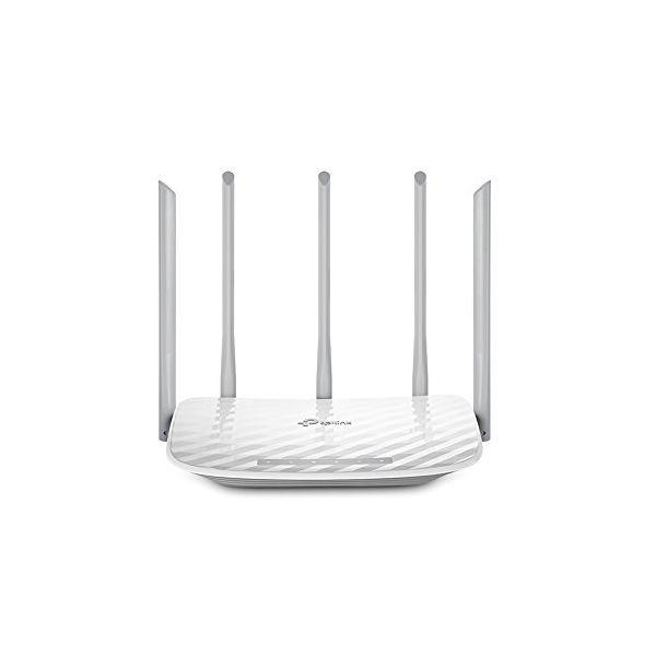 Router Senza Fili TP-LINK NROINA0178 Archer C60 Wifi Ethernet LAN WAN ADSL (RJ-11) 2.4-2.4835 GHz