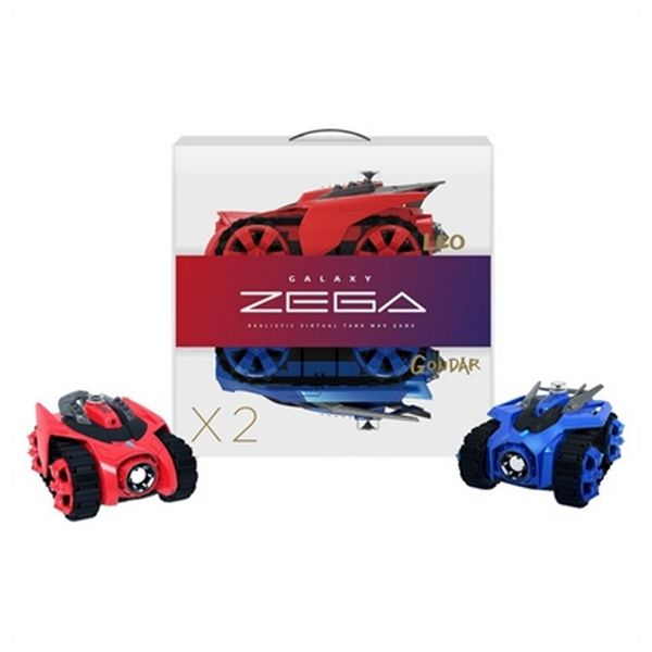 Coche Zega BXZE1001 Leo&Gondar (2 pcs) Inalámbrico Azul Rojo