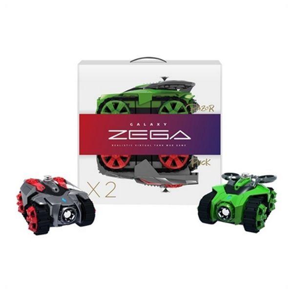 Coche Zega BXZE1002 Razor&Puck (2 pcs) Inalámbrico Rojo Verde