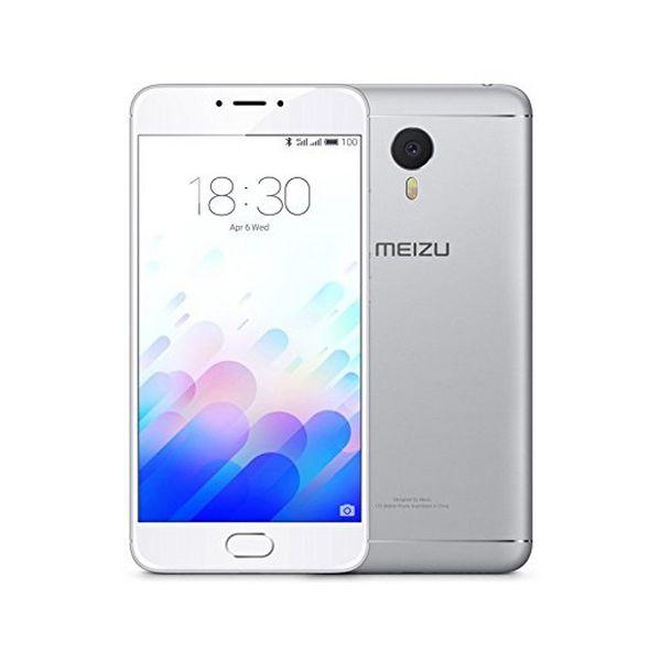 """BB S0401683 Telefono Cellulare Meizu M3 Note 5.5"""" 4G 16 GB Octa Core Argentato"""