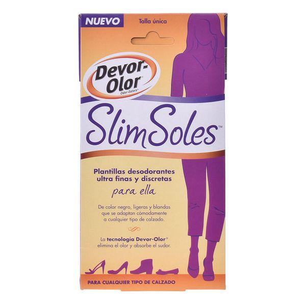 Plantillas Desodorantes Slim Soles Devor-olor