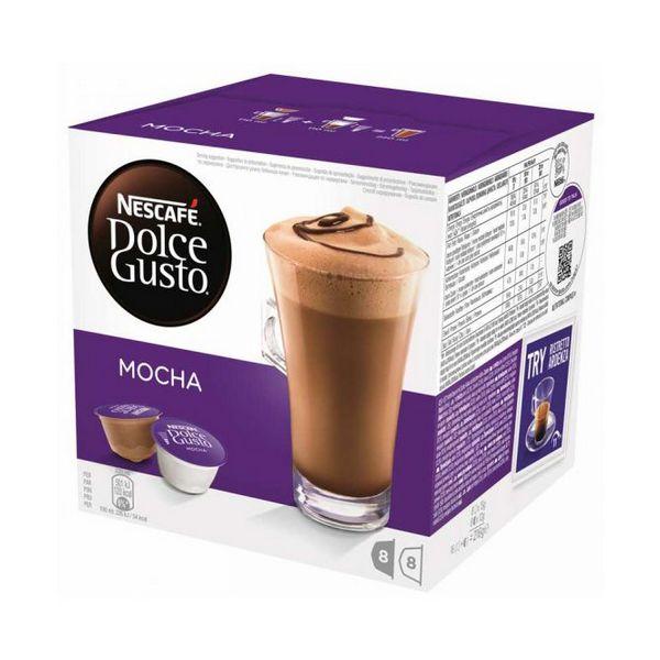 Capsule di Caffè con Contenitore Nescafé Dolce Gusto 49523 Mocha (16 uds)