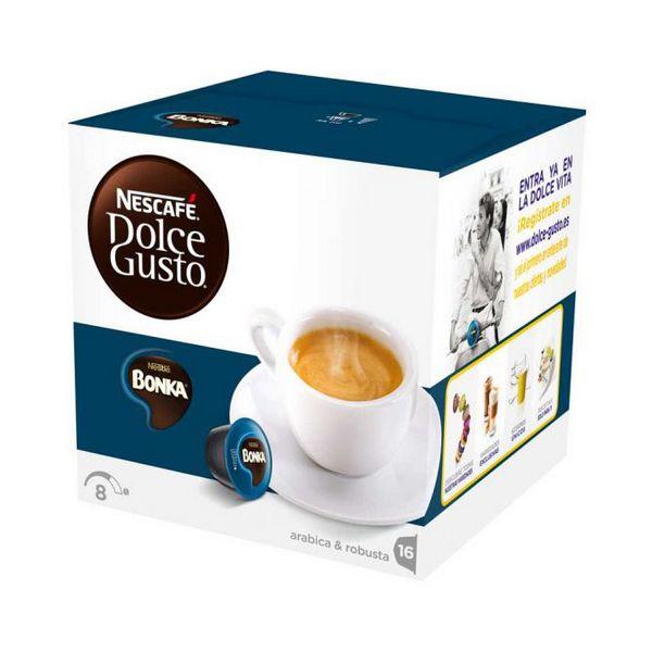Capsule di Caff� con Contenitore Nescaf� Dolce Gusto 13758 Espresso Bonka (16 uds)