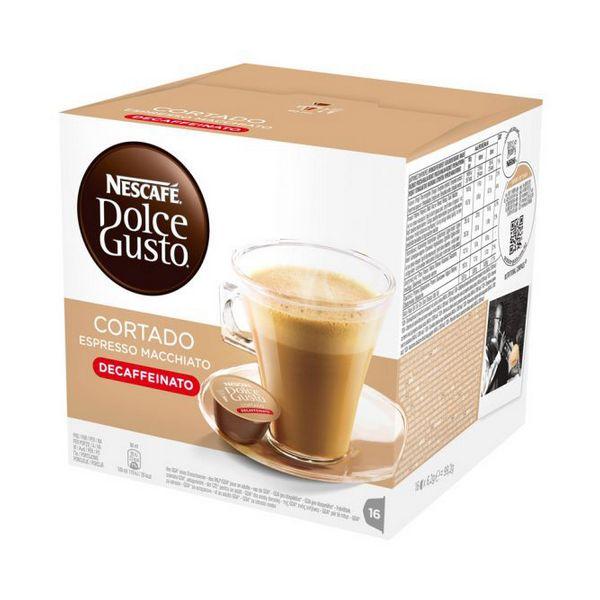 Capsule di Caff� con Contenitore Nescaf� Dolce Gusto 94314 Espresso Macchiato Decaffeinato (16 uds)