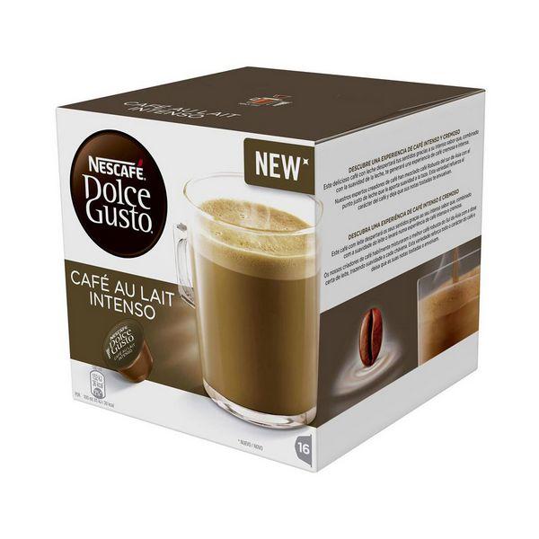 Capsule di Caff� con Contenitore Nescaf� Dolce Gusto 45831 Caf� Au Lait Intenso (16 uds)