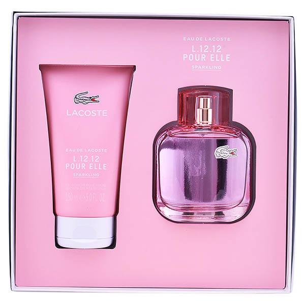 Set de Perfume Mujer L.12.12 Pour Sparkling Lacoste (2 pcs)