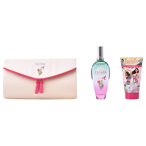 Set de Perfume Mujer Fiesta Carioca Escada 751161 (3 pcs)