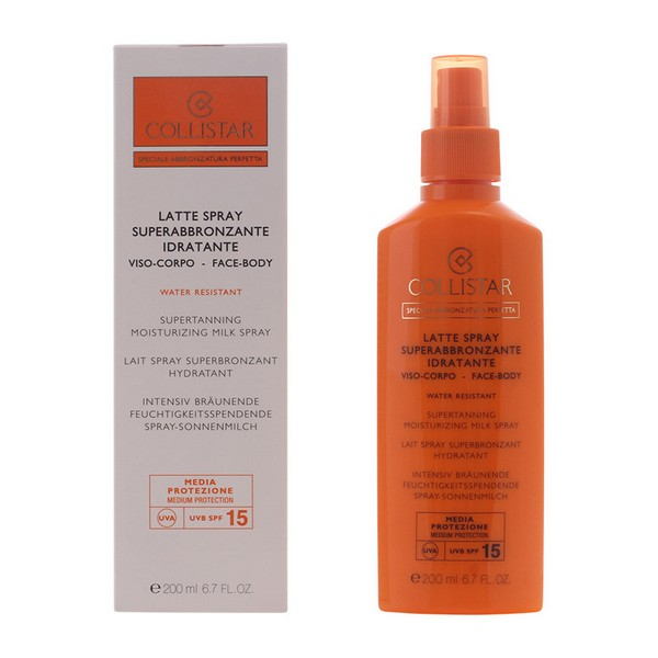 Spray Abbronzante Perfect Tanning Collistar Spf 15 (200 ml)