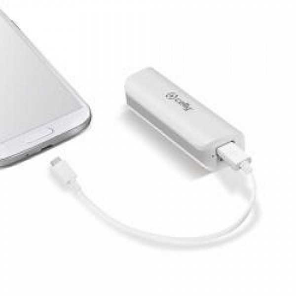 Power Bank Celly 43UJ670V 223496 2600 mAh Blanco