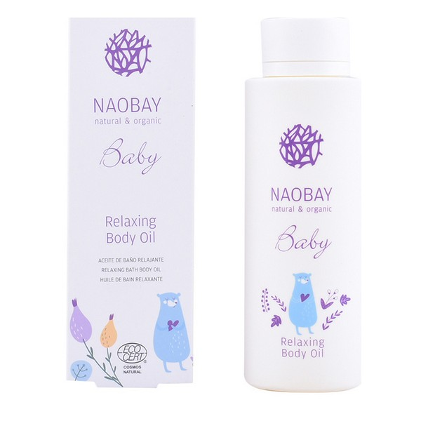 Olio Corpo Idratante Per Bambini Baby Relaxing Naobay (200 ml)