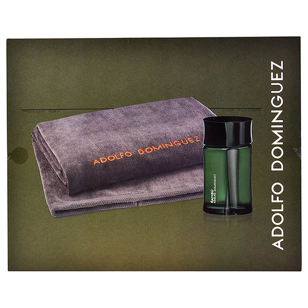 Set de Perfume Hombre Bambú Adolfo Dominguez (2 pcs)