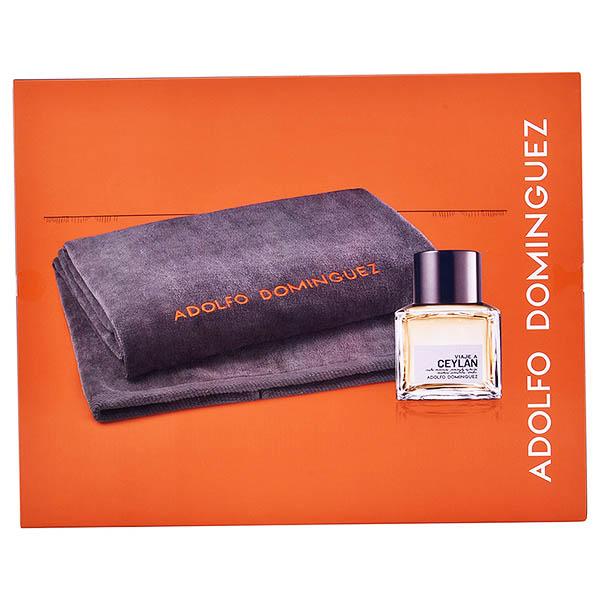 Set de Perfume Hombre Viaje A Ceylan Adolfo Dominguez (2 pcs)