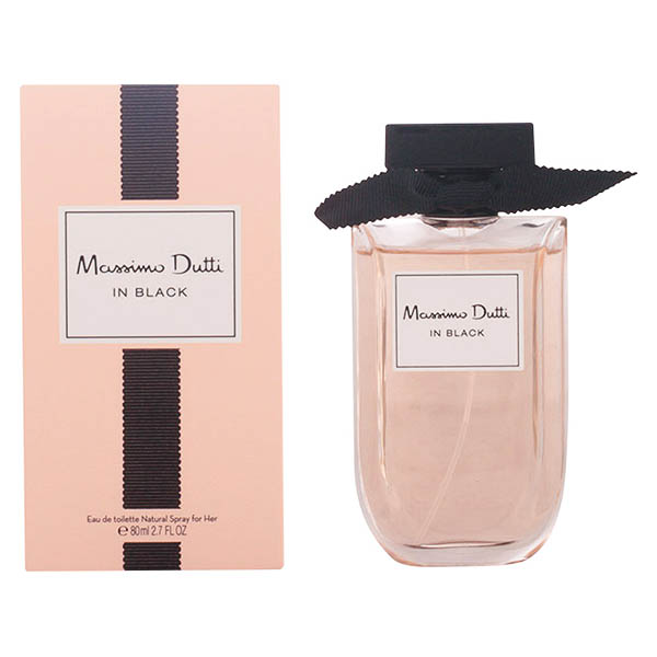 Perfume Mujer Massimo Dutti In Black Her Massimo Dutti EDT