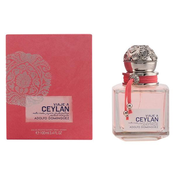 Ženski parfum Viaje A Ceylan Adolfo Dominguez EDT - 100 ml