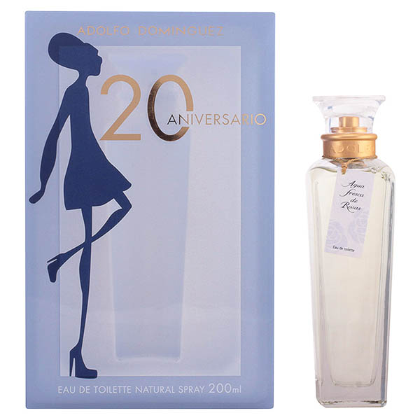 Perfume Mujer Agua Fresca De Rosas Adolfo Dominguez EDT
