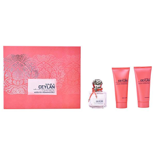 Ženski parfumski set Viaje A Ceylan Adolfo Dominguez (3 pcs)