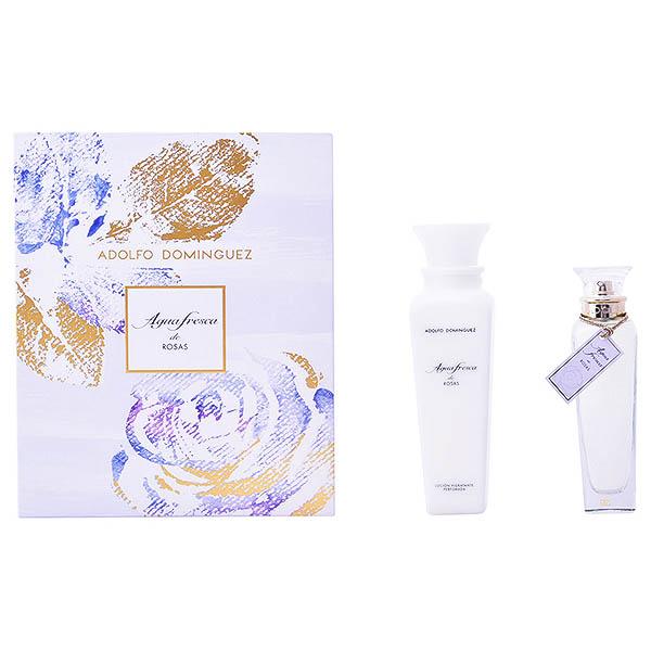 Ženski parfumski set Agua Fresca De Rosas Adolfo Dominguez (2 pcs)