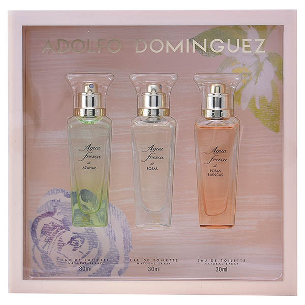 Set de Perfume Mujer Aguas Frescas Adolfo Dominguez 14246 (3 pcs)