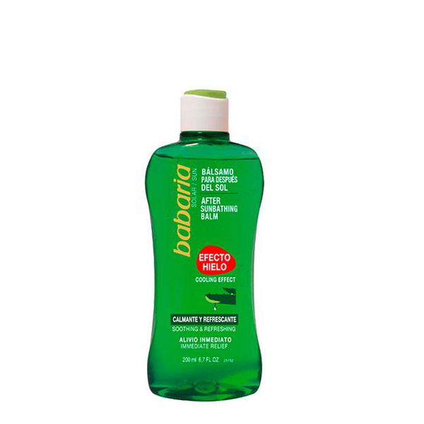 Dopo Sole Effetto Ghiaccio Aloe Vera Babaria (200 ml)