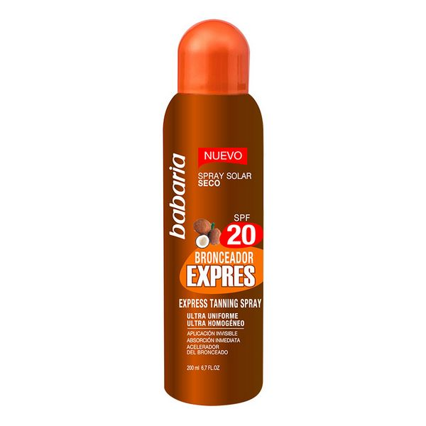 Spray Abbronzante Express Babaria Spf 20 (200 ml)