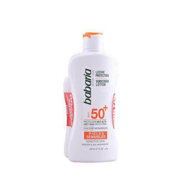 Set Protezione Solare Babaria (2 pcs) SPF 50+