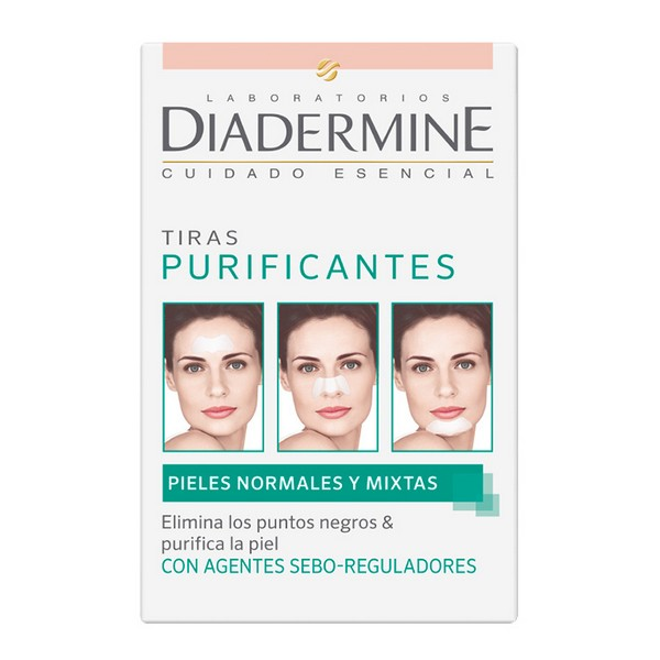 Strisce Purificanti Diadermine (6 uds)