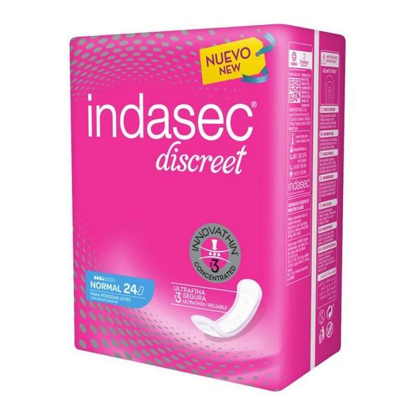 Assorbenti da incontinenza Discreet Indasec (24 uds)