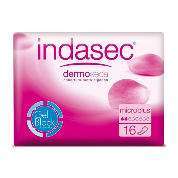 Assorbenti da incontinenza Dermoseda Micro Plus Indasec (16 uds)
