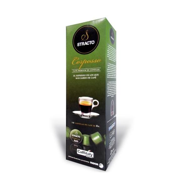 Capsule di Caffè con Contenitore Stracto 80583 Corposso (80 uds)