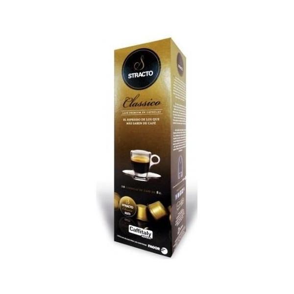 Capsule di Caffè con Contenitore Stracto 80606 Delicato (80 uds)