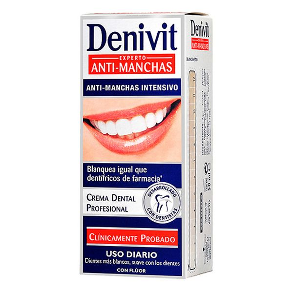 Dentifricio Anti-macchia Denivit (50 ml)