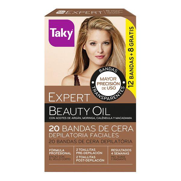 Depilacijski vosek za obraz Beauty Oil Taky (20 pcs)