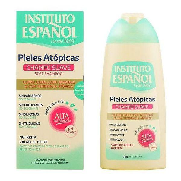 Nežen šampon za lase Instituto Español