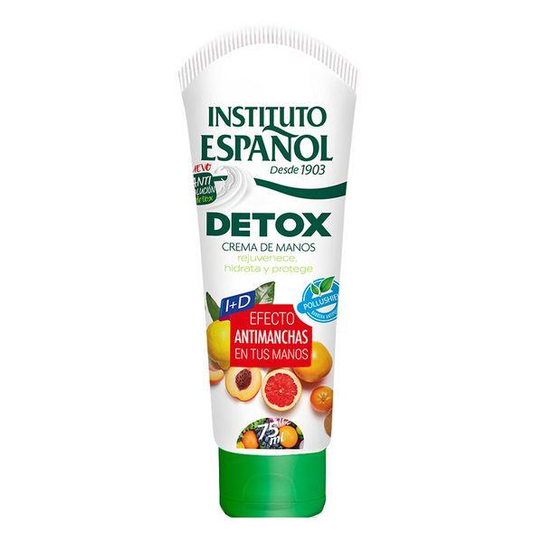 Crema Mani Antimacchie Detox Instituto Español (75 ml)
