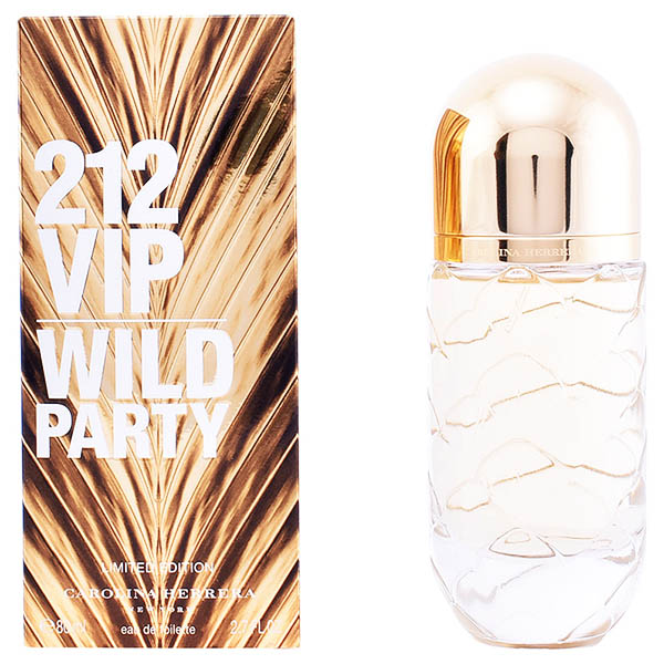 Perfume Mujer 212 Vip Wild Party Edt Carolina Herrera EDT