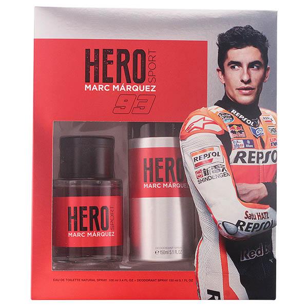 Set de Perfume Hombre Hero Marc Marquez (2 pcs)