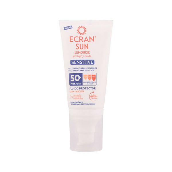 Krema za Sončenje za Obraz Sensitive Ecran SPF 50+ (50 ml)