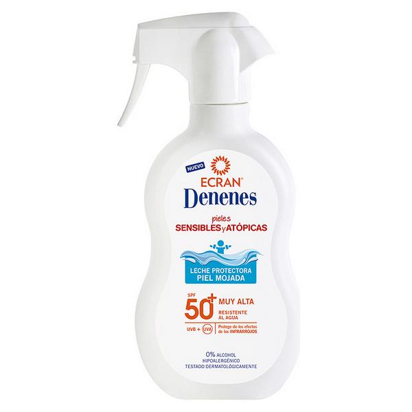 Mleko za sončenje Wet Skin Denenes SPF 50+ (300 ml)